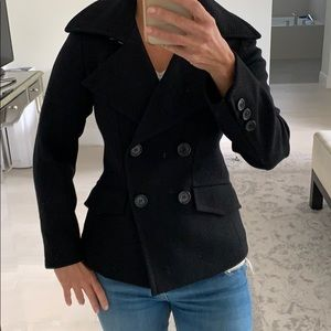 Club Monaco black wool blazer